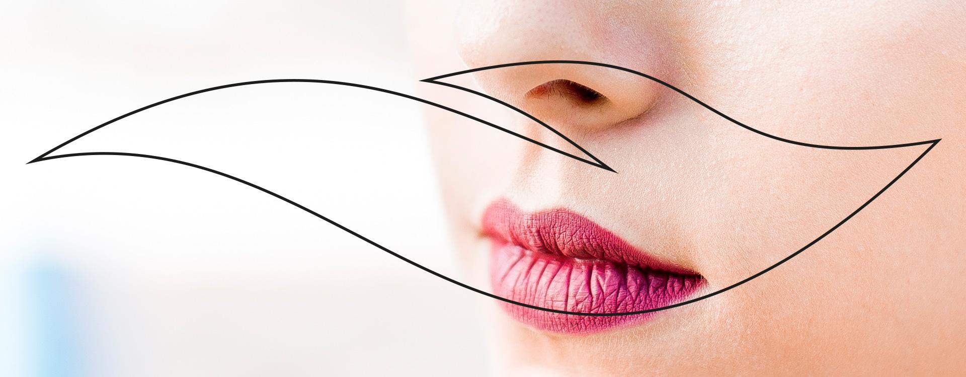 Permanent Make-up statt Lippenstift
